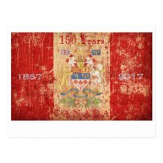 Shop Canada's Anniversary Birthday Celebration Postcard created by LeonOziel. Red Birthday Party, Birthday Celebration, Canadian Coat Of Arms, Canada Birthday, Canada 150, Postcard Size, Paper Texture, Party Supplies, Create Your Own