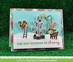 the Lawn Fawn blog: Fall/Winter 2016 Sneak Week - Day 4 : Cheery Christmas