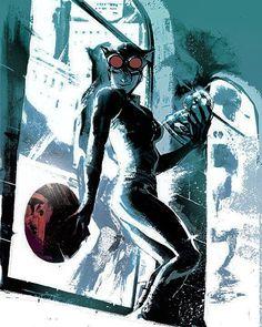 Catwoman de Rafael Albuquerque