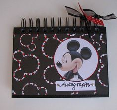 Disney Autograph Book  80 pages by LJsOriginals on Etsy, $20.00