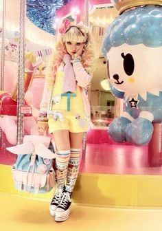 Japanese style with a pastel overload x