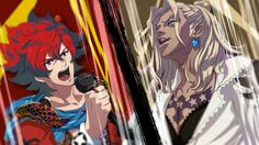 "Bakumatsu Rock ~Ultra Soul ~ Game promo :: Keep an eye open for the ""Slash"" impersonator!"