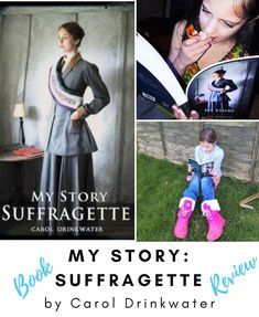 A review of My Story: Suffragettes, a book on the Suffragette story for young readers