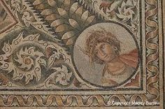Ancient floor mosaic