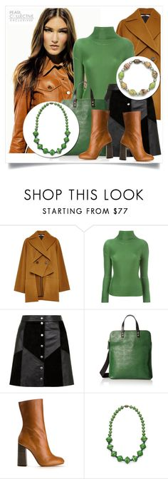 """""""SHOP - Pearl Collective - Necklace&Bracelet"""" by pearlcollective ❤ liked on Polyvore featuring Rosetta Getty, ISSEY MIYAKE CAULIFLOWER, Orla Kiely and Chloé"""