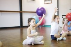 paying attention... #preballet #tinytoes