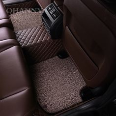 OHANNY Custom fit car styling floor mats case for Jeep Grand Cherokee commander compass patriot Renegade covers liners