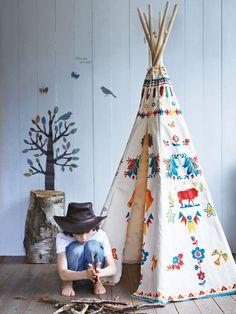 Tipi infantil: Un nuevo must a tener en cuenta para las habitaciones de los más pequeños.