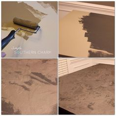 How to make raised relief stenciled angel wings for wall decor :: Hometalk