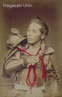 Japanese old photograph in Bakumatsu-Meiji Period  ~Repinned Via Judy Splawn
