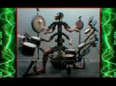 Aphex Twin + Chris Cunningham - Monkey Drummer
