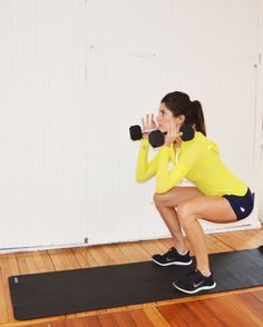 Dumbbell Progression Workout (via @nicoleperr) #POPSUGARSelect