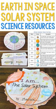 Solar System and Planets Science Unit Student Teaching, Teaching Science, Teaching Reading, Space Solar System, Our Solar System, Science Resources, Writing Activities, Expository Writing, Word Poster