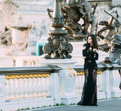 Doina Ciobanu for Rhea Costa Dress With Shawl, Lacy Lingerie, Look In The Mirror, Cannes Film Festival, Fashion Shoot, Lifestyle Photography, Life Is Good, Style Inspiration, Dark