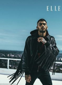 Zayn malik on ELLE magazine