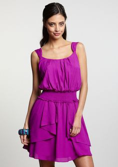 This looks so fun and carefree.  A dress you can really move in.