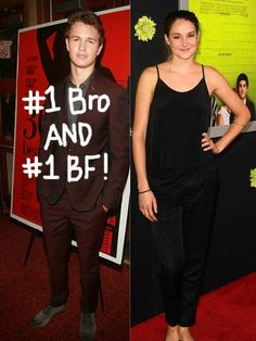 that's so funny...he plays tris's brother in Divergent, and Gus in The Fault in Our Stars