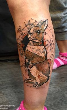 Bob Mosquito | Heidelberg Germany / Traveling Bunny for Ja Bud. anarchisttattoo@googlemail.com