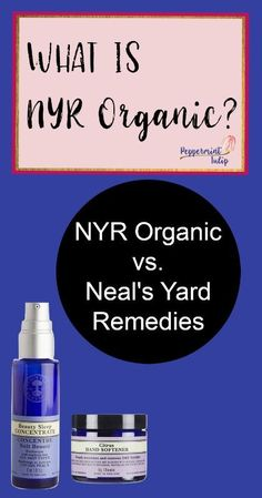 NYR Organic. Neal's Yard Remedies. Organic Beauty. Natural Skincare. Certified Organic. Direct Sales. Frankincense Intense. Essential Oils. Peppermint Tulip Blog