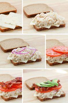 Bacon Chicken California Club Sandwich