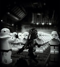 Star Wars: Lego Darth Vader and Stormtroopers