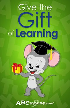 Visit www.ABCmouse.com to find out how you can give the gift of learning to a young child in  your life. #ABCmouse