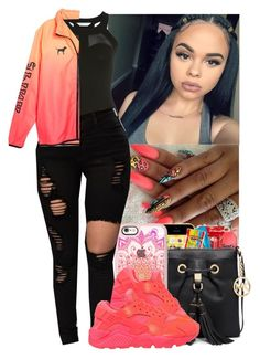 """""""☺️Mama Raised A Soldier Not A B****☺️"""" by jazzy-love1164 ❤ liked on Polyvore featuring Miss Selfridge, Casetify and NIKE"""