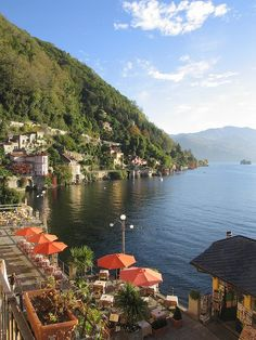 Cannero riviera , Verbano Cusio Ossola on Lake Maggiore, Lombardy on Lake Maggiore, Piemonte