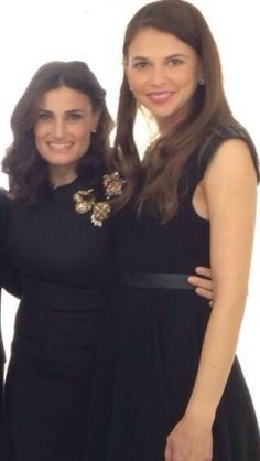 Idina Menzel and Sutton Foster, my two idols since I was little