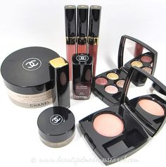 CHANEL. On my Christmas list. I want all new makeup!