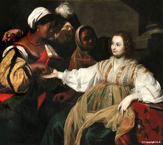 "Cultured Art --- ""The Fortune Teller"" by Nicolas Regnier, 1626:"