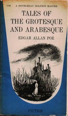 Edward Gorey's cover for Tales of the Grotesque and Arabesque by Edgar Allan Poe Book Cover Art, Book Cover Design, Book Design, Edgar Allan Poe, Edgar Allen Poe Quotes, Sylvia Plath, Archie Comics, Edward Gorey Books, Mini Mundo