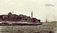 Şemsipaşa Üsküdar 1910 sahili görünümü.