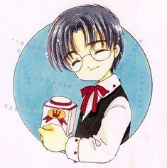CLAMP, Card Captor Sakura, Cardcaptor Sakura Illustrations Collection 3, Eriol Hiiragizawa
