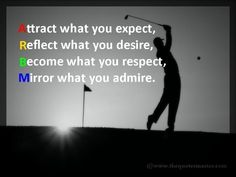 Attract what you…