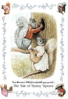 Beatrix Potter Tale of Timmy Tiptoes AllPosters.com