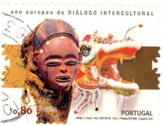 postage stamps from portugal | Portugal - Stamp 2008 masks, 0,80 | Flickr - Photo Sharing!
