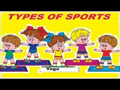 Types of Sports || Kids Learning Videos (+playlist)