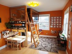 15 totally feasible loft beds for normal ceiling heights - with some links and good pics.