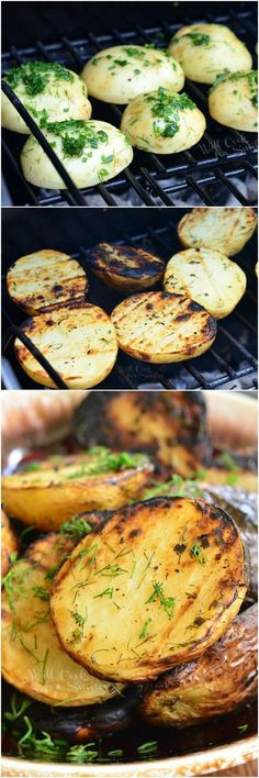Herbed Grilled Potatoes