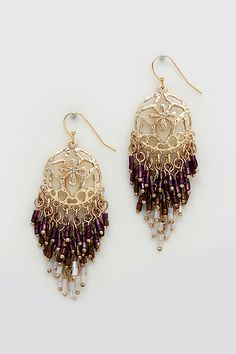 Delphine Earrings in Twilight on Emma Stine Limited