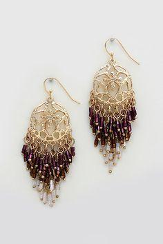 Delphine Earrings in Twilight