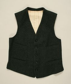 Suit Date: ca. 1890 Culture: American or European Medium: wool Accession Number: 1980.145.5a–c