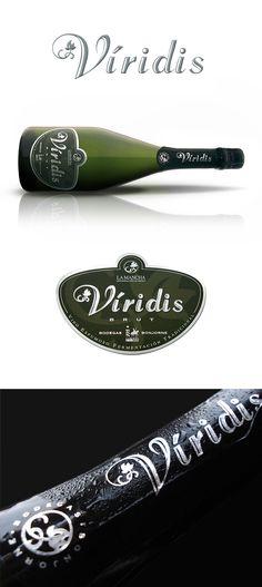 VIRIDIS BRUT: ¿Un espumoso DO LA MANCHA?... Si Don Quijote levantara la cabeza. Brand / Pack #brut #vinosdelamancha #vinoespumoso #brand #pack #vino #wine #packaging #etiquetas #diseño #diesñopack #diseñomarcas #packdesign #branddesign