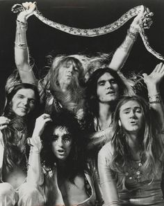 Alice Cooper - completely obsessed with this band 1970-1973
