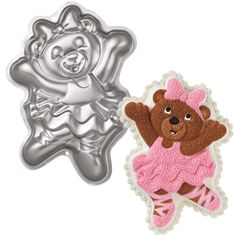 Ballerina Bear Cake Pan by Wilton Character & Wilton Shaped Pans