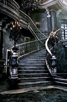 Stunning Depictions of Abandoned Ruins Around the World Pics) - Part 3 Gothic Mansion, Gothic House, Victorian Gothic, Gothic Castle, Dark Castle, Modern Mansion, Dark Gothic, Haunted Mansion, Slytherin Aesthetic