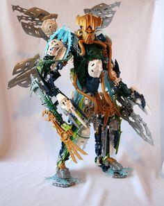 Bionicle MOC: Light Brother by Rahiden.deviantart.com