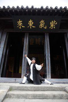 Chinese Martial art Wudang Master Wang and Grandmaster Liu