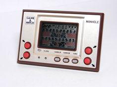 Nintendo Game & Watch Gold Series Manhole MH-06 MIJ 1981 Great Condition_85 #Nintendo